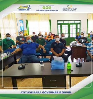 Prefeito e Secretários participam de Curso de Arrecadação Tributária na Câmara Municipal de Vereadores