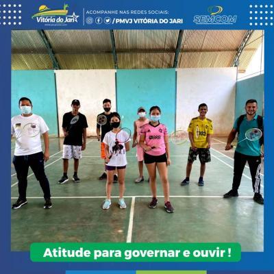 Delegação do Badminton de Vitória do Jari se deslocará para Macapá, para a disputa da seletiva 2021