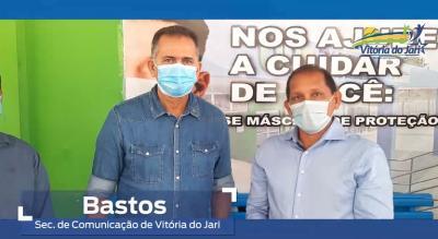 Governador assume compromisso com a saúde de Vitória do Jari